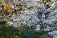 Un coin au calme (Clic Clac 2956) Tags: cascade cascadesdesanglais corse poselongue longexposure montagne mountain waterfall automne autumn corsica
