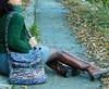 borsa tracolla melange (stranelane1) Tags: bag borsa maglia wool lana tricot knitted knit knitting
