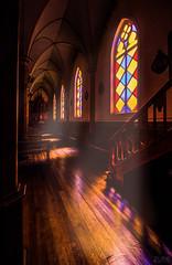 Luz Divina (Cruz-Monsalves) Tags: iglesia vitriales church religion chile frutillar llanquihue