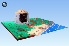 The Caithness Broch (peggyjdb) Tags: lego broch caithness caithnessbrochproject caithnesshorizonsmuseum iron age ironage scotland minifigs archaeology alba outreach education