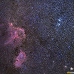 Cúmulo Doble, nebulosas Corazón y Alma / Double cluster, Heart and Soul Nebula thumbnail