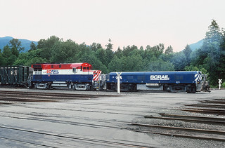 BCOL 611 and S412, North Vancouver, BC May 30, 1992