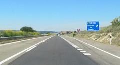 A-23-60 (European Roads) Tags: a23 huesca zuera zaragoza españa aragón spain autovía