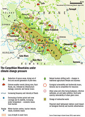 The Carpathian Mountains under climate change pressure (Zoi Environment Network) Tags: easterneurope europe climate security environment ecology map geography ukraine carpathian mountain region area territory impact influence damage consequence climatechange globalwarming spruce forest flood winter snow river water agriculture vulnerability biodiversity urban city radioactive waste ivanofrankivsk chernivtsi uzhhorod tisza