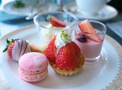 Strawberry Sweet Plate (Long Sleeper) Tags: sweets dessert food afternoontea strawberryafternoontea tart macaron mousse fruit strawberry strawberries blueberry hotel marineblue yokohamagrandintercontinentalhotel minatomirai yokohama kanagawa japan dmcgx1