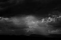 Sunlight (david.john.lee) Tags: landscape canberra australia clouds mountains black white