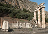 The Tholos at Delphi (Adlestrop Images) Tags: 4thcenturybc archaeology delphi firstmilleniumbc fourthcenturybc greece ancientworld classical remains ruins