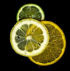 Citrus Fruit (LeeJayDee) Tags: citrus fruit slicedfruit lemon orange lime pip stilllife
