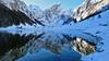 Seealpsee - Appenzell - Schweiz (Felina Photography - www.mountainphotography.eu) Tags: seealpsee alpstein appenzell schweiz svizzera switzerland snow schnee neve lake lac see meer lago alpino alpine mirror spiegeling spiegelung