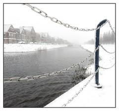 Sneeuw in Vathorst