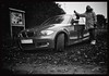 Autumn... (iEagle2) Tags: woman wife ep2 ehefrau blackandwhite blackwhite bw bmw bmw120 female femme frau sweden autumn olympusep2 olympuspen car