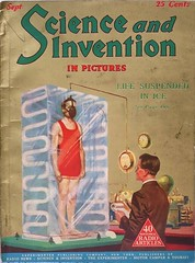 """Science and Invention"" Vol. 13, No. 5 (September 1925). Cover artist is uncredited (lhboudreau) Tags: pulp pulps magazine magazines coverart magazineart magazinecover magazinecovers art pulpart illustration illustrations drawing drawings speculativeart vintagemagazine scienceandinvention experimenterpublications experimenterpublicationsinc 1925 september1925 volume13number5 scienceandinventionmagazine science invention speculativescience speculative speculation futurism futuristic hugogernsback gernsback monthly periodical publication lifesuspendedinice cryogenic cryogenics frozeninice lifesuspension suspendedanimation ice cold freezer"
