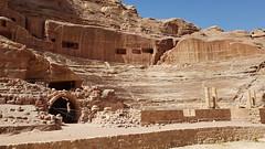 JORDANIA (Grace R.C.) Tags: jordania petra teatro theater ruinas ruins arquitectura antigüedad