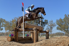CCI3* Second Place - Ellen Doughty-Hume and Sir Oberon (Tackshots) Tags: eventing horsetrials international galwaydowns temecula california crosscountry horse jumping rider riding