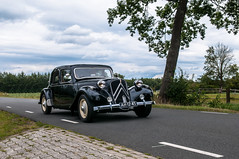 Citroën 11B '53 (Roberto Braam) Tags: citroën 11b 53 ah1245 french car voiture old vehikel tractionavant sky clouds vehicle outdoor classic oldtimer european landscape street scenery road thenetherlands oldie europe automobile historical