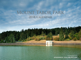 Mount Tabor Park 2018 Calendar