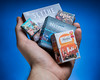 Tiny Game Boxes (boardgamephotos) Tags: scythe androidnetrunner loot alambra miniature hand