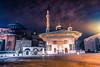 Istanbul's magic nights (mscgerber) Tags: istanbul sultanahmet turkey turkiye square building hagia sophia architecture night nightphotography dark mood light lights shadows yellow clouds cloudy cloud asia europe city cityphotography cityscape longexposure
