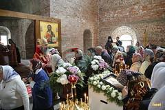 61. Первое богослужение в храме г.Святогорска 30.09.2014