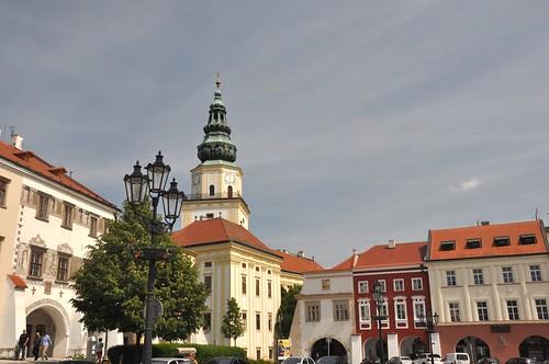 Kroměříž, Hauptplatz