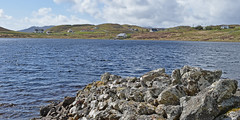 Loch na Deasport.. (Harleynik Rides Again.) Tags: balallan lochnadeasport outerhebrides holiday cottage scotland harleynikridesagain nikondf