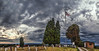 IMG_5280-85Ptzl1TBbLGER (ultravivid imaging) Tags: ultravividimaging ultra vivid imaging ultravivid colorful canon canon5dmk2 clouds autumn stormclouds scenic vista rural evening cloudy countryscene cemetery sunsetclouds landscape sky pennsylvania pa panoramic painterly flag