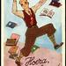 Archiv O080 Hurra, ich habe bestanden, Baarn, Holland, 1920er