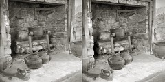 Hearth (efo) Tags: stereo stereorealist hearth cabin cooking dust rock virginia rockbridge film bw