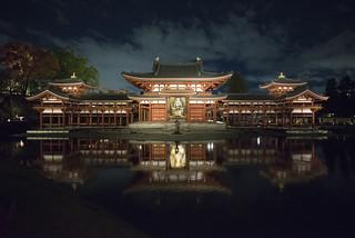 Byodo-in Phoenix Hall / 平等院ライトアップ
