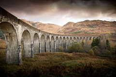 Glenfinnan Viaduct (SawardPhotography) Tags: harry potter steam viaduct glenfinnan