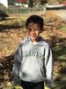 20171119 Rylan wearing his mom's Alma mater sweatshirt (lasertrimman) Tags: 20171119 maryland rylan wearing his moms alma mater sweatshirt
