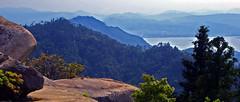 Southwest from the summit of Mt. Misen, Miyajima  弥山 宮島 広島 (Anaguma) Tags: japan hiroshima chugoku miyajima misen inland sea seto naikai