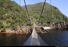 Suspension Bridge, Storms River, Tsitsikamma NP, South Africa (JH_1982) Tags: tsitsikamma national park tsitsikammanationalpark garden route np pn nationalpark parque nacional parc nazionale suspension bridge hängebrücke brücke puente colgante pont suspendu storms river mouth stormsrivier eastern cape landscape nature scenery scenic mountains indian ocean water south africa rsa za südafrika sudáfrica afrique sud sudafrica 南非 南アフリカ共和国 남아프리카 공화국 южноафриканская республика جنوب أفريقيا