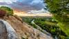 Saint Ambroix - Sunrise II (Cyclase) Tags: landscape france sky himmel clouds provence dawn sunrise sonnenaufgang river hill mountain languedocroussillon landschaft orton baum flus fluss berg frankreich