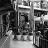 Airwalking, South Bank, London (f/me) Tags: air walking jumping jumper acrobat artist trick show parkour gimnast southbank london uk street streephotography streetart monochrome monochromatic mono bw blackwhite blackandwhite square art
