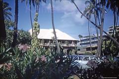 Halekulani Kalia Makai 1956 (Kamaaina56) Tags: 1950s waikiki hawaii halekulani slide