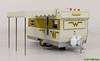GreenLight 1964 Winnebago 216 Wohnwagen - GL 18420B (Stefan's Gartenbahn) Tags: greenlight wohnwagen teardrop 1964winnebago216 1964 winnebago 216 gartenbahn zubehör fahrrad kanu shasta trailer airflite 124th scale 1962 chevy hardtop diecast 124