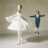 Young Ballet Dancers (Fee Chin) Tags: ballet dancing dancer girl boy reflection jump costume