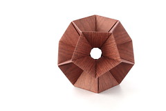 05.12 - Dodecahedron Day! (ronatka) Tags: kusudama modularorigami tomokofuse rectangle12 dodecahedron ef50mmf18stm brown rectangle whitebackground