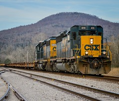CSXT W835-03 Anderson,TN (Andrew Williams Photography) Tags: csx csxt locomotive emd sd403 sd402 baretable ruralarea emdlocomotive tennessee train outdoor railfan railphotography