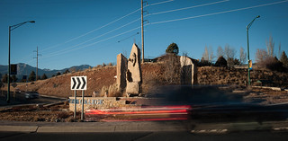 Traffic roundabout, Fort Lewis College
