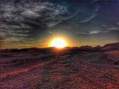 the beauty of Sunset (amanyadel9212) Tags: aswan landscape nasser lake travel mobile sky desert sun sunset egypt sand mountain road