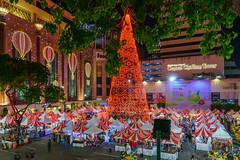 Merry Xmas 2017 (technodude67) Tags: amazingthailand asia bangkok city colourful light longexposure night nightphoto outdoor scenery skyline street streetphoto th thailand travel tree urban wanderlust xmas krungthepmahanakhon