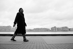Music is for later (Bjarne Erick) Tags: attitude dark clothes silhouette waterfront harbour sunday walk street