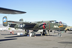 NORTH AMERICAN B25J MITCHELL NL3475G COLLINGS FOUNDATION (shanairpic) Tags: military historicaircraft b25 northamericanb25 mitchell scottsdale collingsfoundation nl3475g