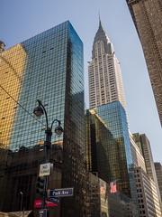 Chrysler Building. (Luis Pérez Contreras) Tags: midtown viaje eeuu usa trip 2017 olympus m43 mzuiko omd em1 manhattan nyc newyork nuevayork estadosunidos chryslerbuilding