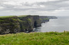 Cliffs of Moher (Spannarama) Tags: cliffs cliffsofmoher sea clouds coclare ireland grass