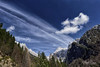 Julian Alps (marko.erman) Tags: julianalps slovenia trenta valley mountains sky trees beautiful nature serene serenity quiet sony triglavnationalpark peaks snow clouds