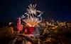 Feuerwerk (matthias_oberlausitz) Tags: bautzen romantica nacht feuerwerk oberlausitz altstadt wasserkunst illuminiert beleuchtet