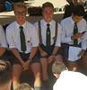 13 (cane4u) Tags: boy boys schoolboy schoolboys teenage teenager school uniform grey shorts socks tie blazer spanking headmaster discipline corporal punishment cp cane caning strap tawse paddle birch